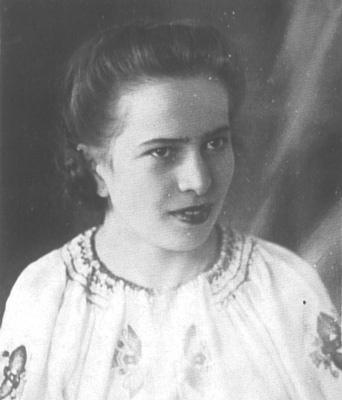 Kuty. Wanda Chrzanowska 18 lat. Zamordowana przez ludobójców zOUN-UPA wkwietniu 1944 r.