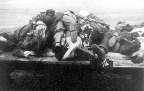 Bełżec – Lubycza Królewska. Transport Polskich ofiar zamordowanych w lesie obok toru kolejowego.